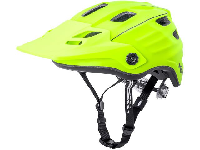 Kali Maya 2.0 Helm matt neon gelb/schwarz